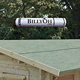BillyOh Premium Green Mineral Shed Roofing Felt - 10m Roll With...