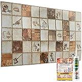 Decorative Wall Panels - Coffee Shop Design Tiles 3D Effect - 6...