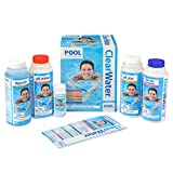 Clearwater CH0017 Pool Chemical Starter Kit for Above Ground Pool...