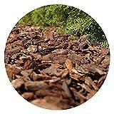 Wooden Bark Chippings 30-80mm Bag 80l decorative Garden...