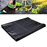FiveFire Ground Cover Weed Membrane Heavy Duty Landscape Ground...