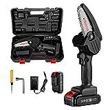 Mini Chainsaw, 4-Inch Electric Chainsaw Handheld Mini Pruning...