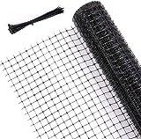 Ohuhu Bird Netting for Garden, 2 X 20 m Heavy Duty Reusable...