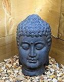Buddha Head Sculpture Ornament indoor outdoor garden Home Decor...