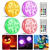 Moxled Halloween Lights, 13 LED Underwater Pool Lights...