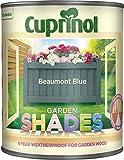 Cuprinol Garden Shades Beaumont Blue 1 Litre CUPGSBMB1L