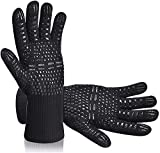 Seryal Grill Gloves BBQ Gloves Heat Resistant up to 800 ℃, Oven...