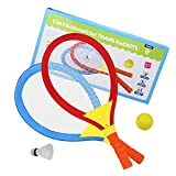 Akokie Outdoor Games 2 in 1 Badminton Set Tennis Rackets with...