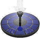 AISITIN Solar Fountain Pump 3.5W Circle Solar Water Pump Floating...