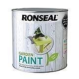 Ronseal RSLGPLZ25L Garden Paint, Lime Zest, 2.5 Litr