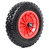 """Woodside 14"""" Solid Tyre, Replacement Wheel for Wheelbarrows,..."""