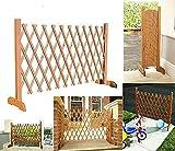 Portable Expanding Portable Fence Wooden Screen