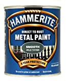 Hammerite Direct to Rust Metal Paint - Smooth Wild Thyme Finish...