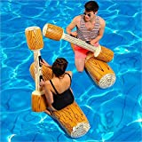 LONEEDY 2 Pcs Set Inflatable Floating Row Toys, Adult Children...