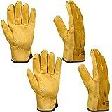 Gardening Gloves Thorn Proof, Xndryan 2 Pairs Heavy Duty Garden...