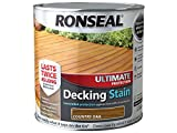 RONSEAL UDSCO25L 2.5 Litre Ultimate Protection Decking Stain -...