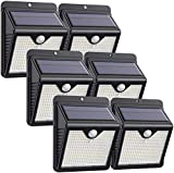 Solar Lights Outdoor [6 Pack] 150 LED iPosible Solar Motion...