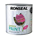 Ronseal RSLGPPJ25L Garden Paint, Pink Jasmine, 2.5 l (Pack of 1)