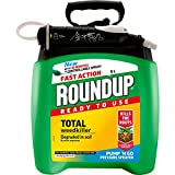 Roundup Fast Action Weedkiller Pump 'N Go Ready To Use Spray, 5...