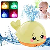 OFOCASE Baby Bath Toys for 1 Year Old, Whale Bath Toys Light Up...