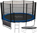 PlayActive 10ft Trampoline - Strong & Durable - Free Safety Net,...