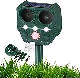 Cat Repellant Garden, Ultrasonic Fox Repellent, Solar Powered &...