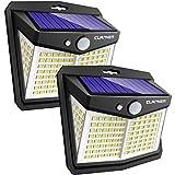 Claoner Solar Lights Outdoor, Upgraded Wireless Solar Motion...