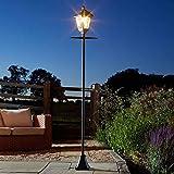 Garden Mile Super Bright 2m LED Solar Powered Victoriana Lamp...