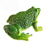 Pack of 2 Toad Frogs Statue Real Figurine, LU2000 Resin Cute Frog...