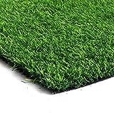 YMHPRIDE 2mx1m Artificial Grass Door Mat Astro Turf Grass Fake...