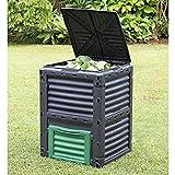Large Garden Composter Bin Organic Waste Compost Converter Eco...