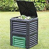 True Face Garden Composter Bin Eco Friendly Large Compost Box...
