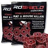 Roshield 600g Wax Block Bait for Rat & Mouse Killer Poison...