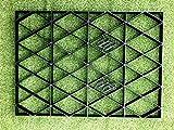 12x8 GARDEN SHED BASE GRID = FULL ECO KIT 3.66m x 2.55m + HEAVY...