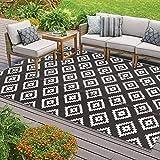 Homcomodar Indoor Outdoor Rugs Reversible Floor Mat Rug Plastic...