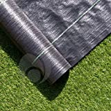 4m X 20m Ground Cover Fabric Landscape Garden Weed Control...