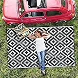 Maphissus Outdoor Rugs for Patios Clearance 184 * 274cm (6x9ft)...