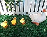 Gardenwize Solar LED Light Garden Yard Duck Ducklings Pond...