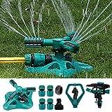 WISDOMWELL Garden Sprinkler Adjustable water spray range Suitable...
