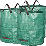 GardenMate pack of 3 large 272L garden waste bags (H76 cm, D67...