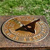 Black Country Metal Works Antique Solid Brass 'Old Father Time'...