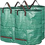 GardenMate pack of 3 large 300L PROFESSIONAL garden waste bags...
