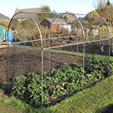 Tall Domed Fruit Vegetable Garden Cage Frame - Various (3m Long)