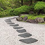 Garden Gear Reversible Stepping Stones Eco-Friendly Natural B...