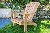 Fixed Teak Adirondack Chair