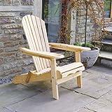 Trueshopping Outdoor Adirondack Garden Patio Chair - Armchair...