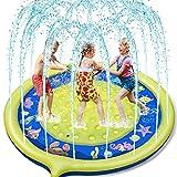 Jojoin Sprinkle and Splash Water Play Mat Non-slip Upgraded, 68...
