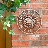 Garden Mile Large 30cm Vintage Open Face Bronze Effect...