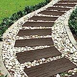 Garden Gear Garden Stepping Stone Steps Eco Friendly Recycled...