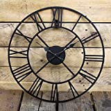 BARGAINSGALORE NEW BIG ROMAN NUMERALS GIANT OPEN FACE METAL LARGE...